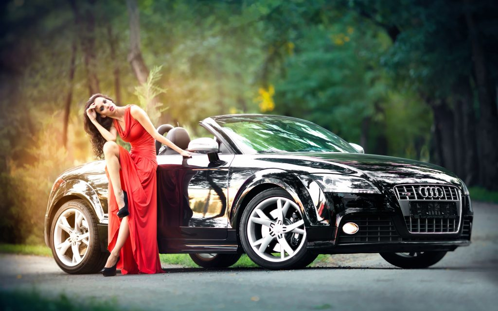 Red-dress-girl-and-black-Audi-car_2880x1800.jpg