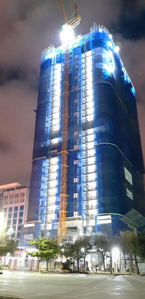 Thi công thần tốc, chất lượng, dự án TMS Hotel Quy Nhon Beach sẽ được cất nóc vào ngày 6/6 tới